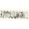 Vinyl Embossed Mylar Silver 52 Swirl